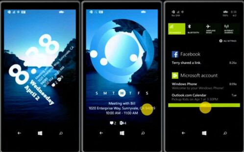 Windows Phone 8.1 Lockscreen app beta is a week away