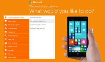 Microsoft's new website will teach you all about Windows Phone