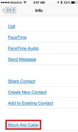 Block senders from sending you spam