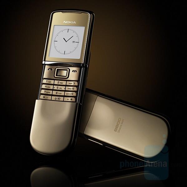 Nokia 8800 Sirocco Gold - Nokia 8800 Sirocco Gold