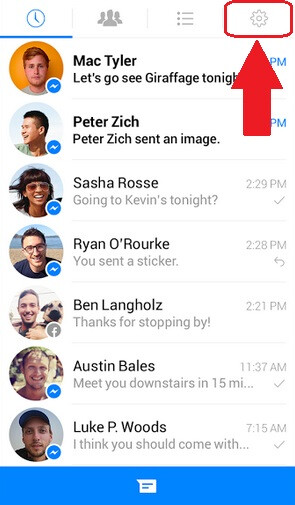 How to remove sticker packs from Facebook Messenger on