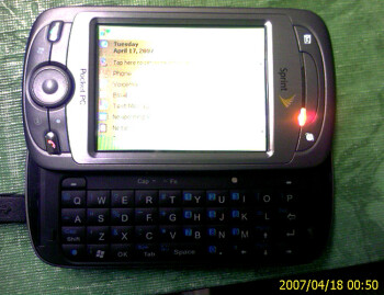 HTC PPC-6800 for Sprint