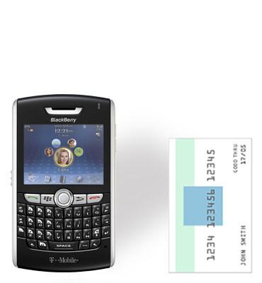 RIM BlackBerry 8800 - T-Mobile gets BlackBerry 8800 and Rose RIZR