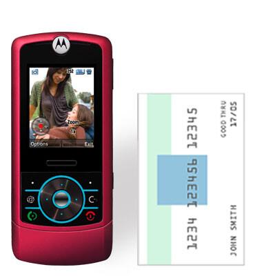 Motorola RIZR Z3 Rose - T-Mobile gets BlackBerry 8800 and Rose RIZR