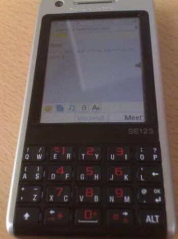 Sony Ericsson P700