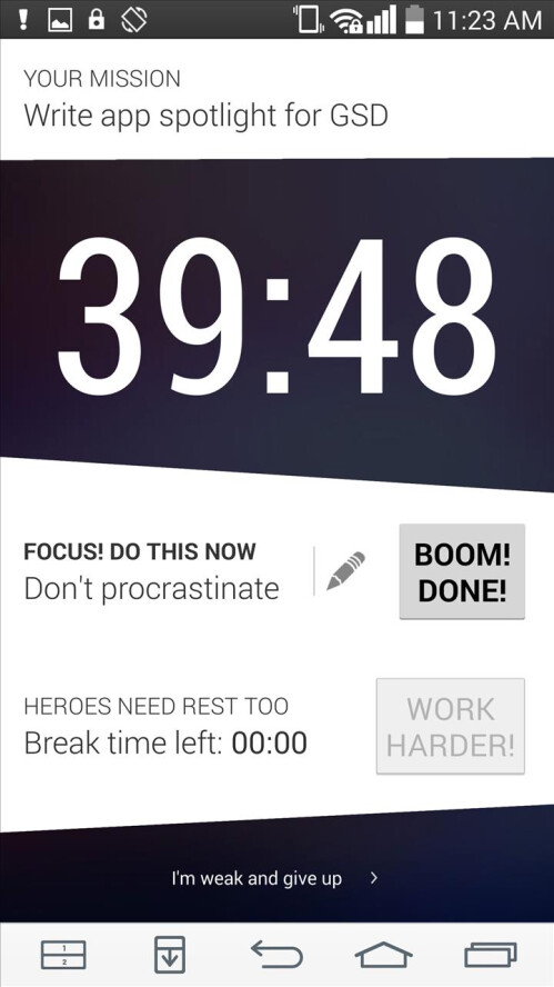 """""""Get S**t Done"""" is an entertainingly coarse app for chore-doing motivation"""