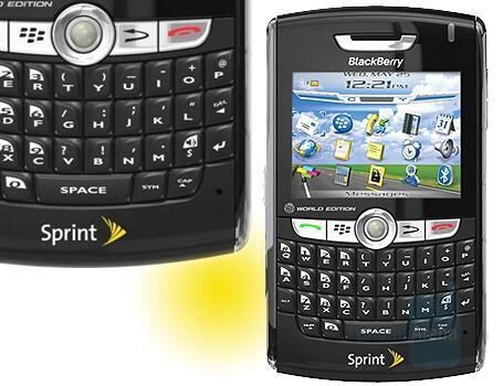 Sprint PCS also gets BlackBerry 8830