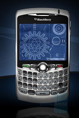 RIM BlackBerry Curve 8300 - BlackBerry Curve 8300 combines the Pearl and the 8800