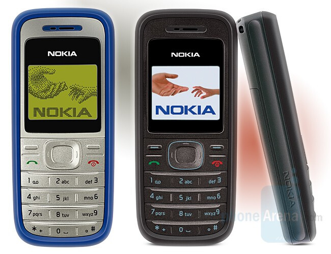 1200 and 1208 - Nokia adds 4 entry level candybars