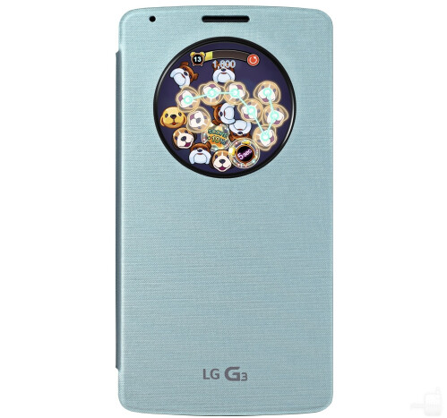Puppy Pop for LG G3's QuickCircle case