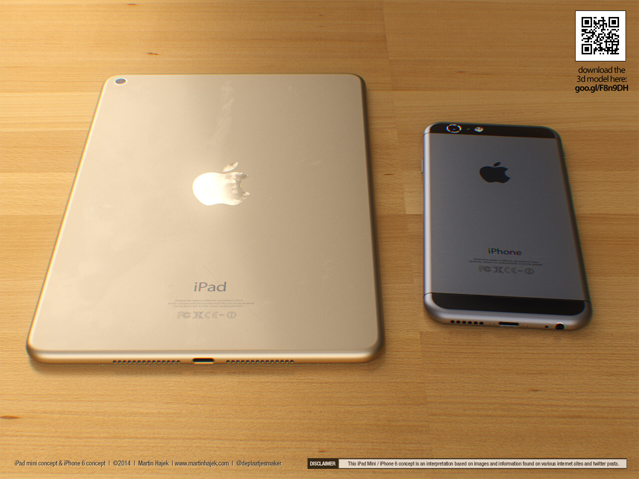 New iPhone 6 and iPad mini 3 concept from Martin Hajek ...