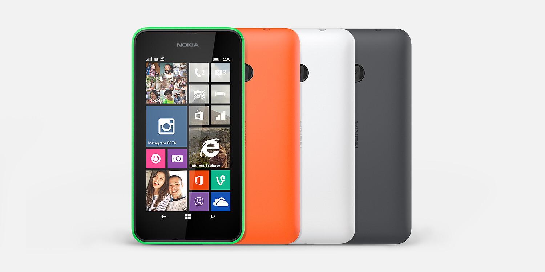 Nokia announces the Lumia 530 and Lumia 530 Dual SIMNokia Lumia 530 Dual Sim Black