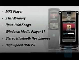 Motorola RAZR 2 V9  - Motorola announces RAZR2 series