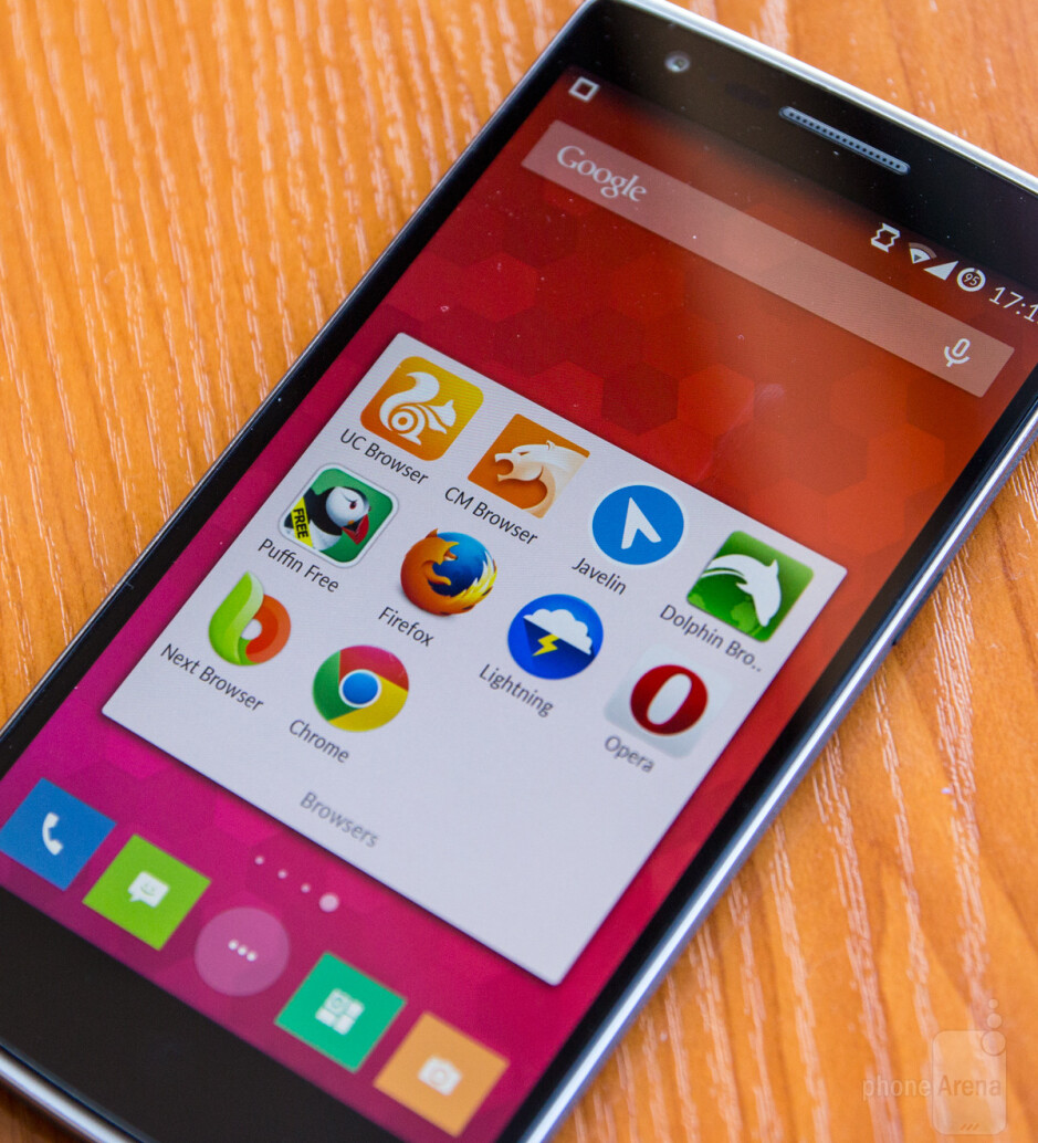 We used the OnePlus One to test all of the browsers - The best Android browsers, 2014 edition: speed, design, and features