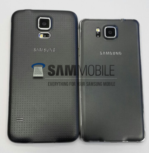Samsung Galaxy S5 Alpha live photos show up, 4.7-inch display apparently confirmed