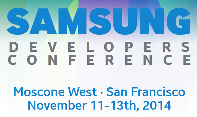 The second annual Samsung Developers Conference starts on November 11th - Circle November 11th on your calendar for the second annual Samsung Developers Conference