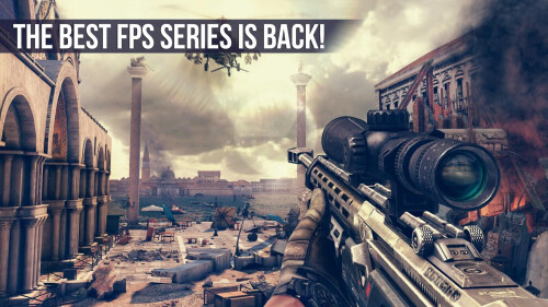 Modern Combat 5: Blackout for iPhone, iPad and Android