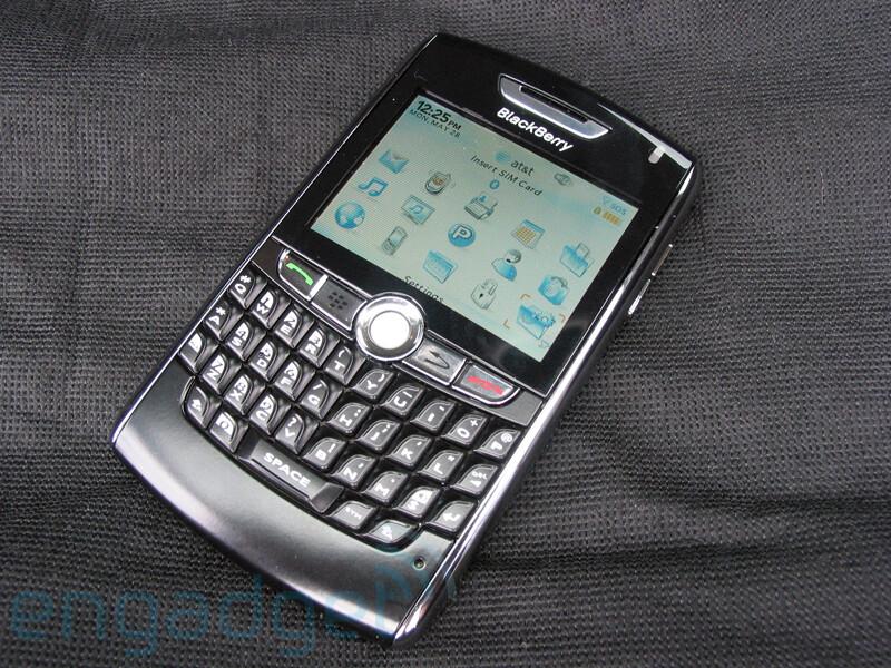 BlackBerry 8820 - RIM BlackBerry 8820 gets WiFi