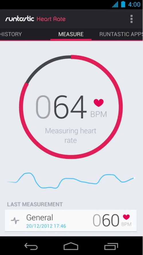 Runtastic Heart Rate PRO - $1, down from $2