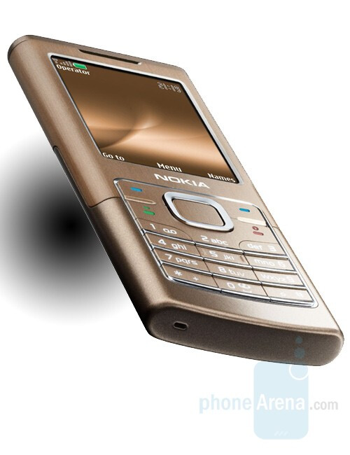 Nokia 6500 classic - Nokia announces 8600 Luna and 6500 series