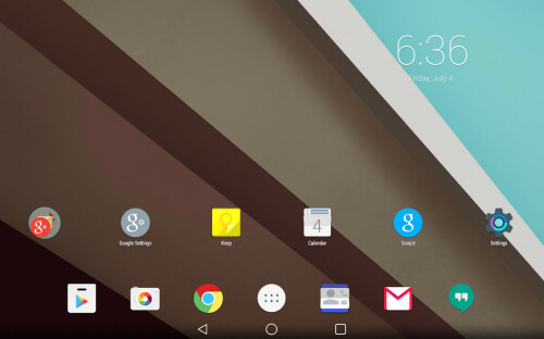 Android L Launcher Theme ($1.99)