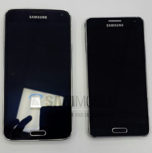 Samsung's alleged Galaxy Alpha
