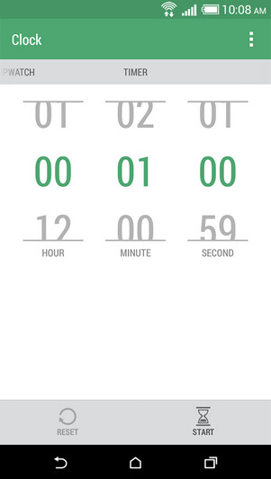 Screenshots from the HTC Clock app - HTC moves its clock app to the Google Play Store
