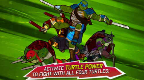 The official Teenage Mutant Ninja Turtle movie game is available for iOS and Android