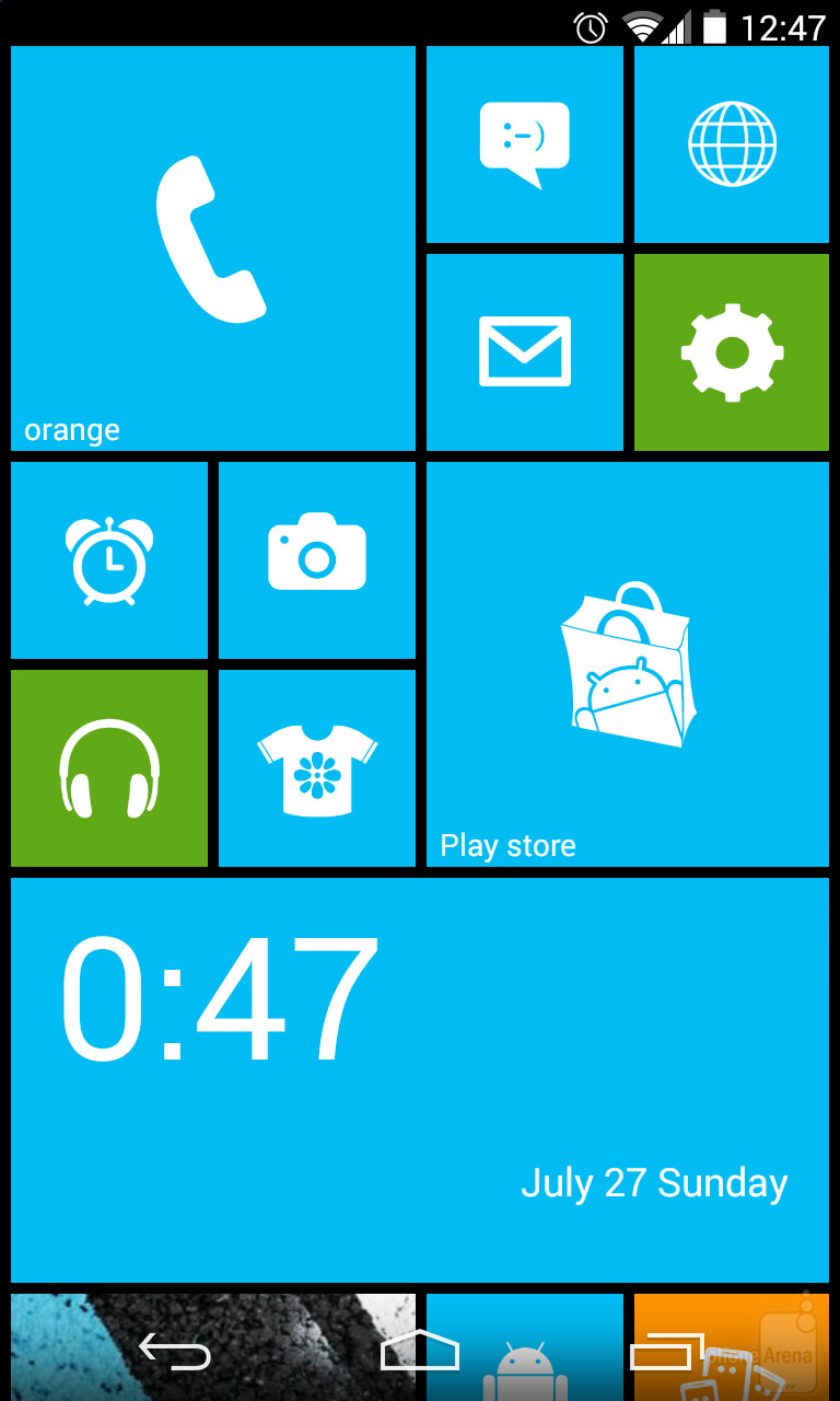 Phone Make Android Windows Phone how to make android look like windows phone 8 a wp launcher will something this on your device