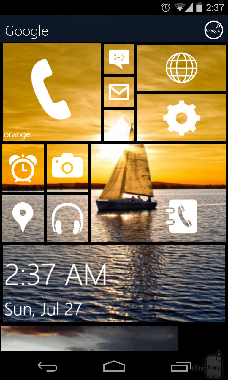 Phone Make Android Windows Phone a wp launcher will look something like this on your android device browse photos