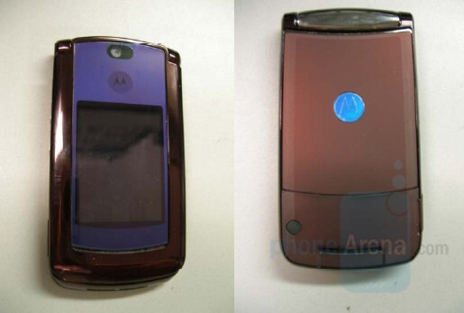 Motorola V9 with Cingular branding - AT&T gets Motorola's RAZR2 V9?