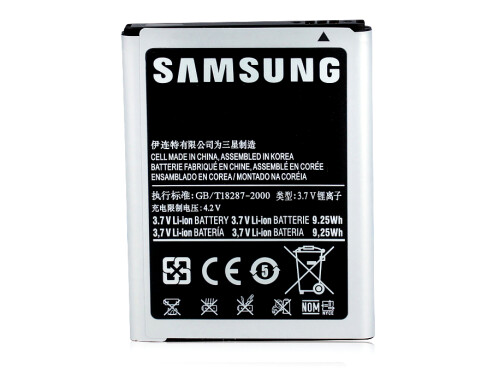 Buy official replacement batteries only
