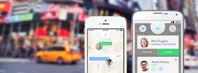 Jink makes meet-ups easy with simple and efficient location sharing