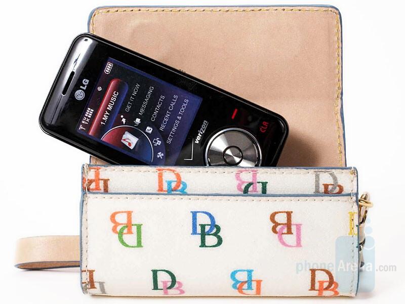LG VX8550 Chocolate and Dooney & Bourke Case - Verizon announces the VX8550 Chocolate