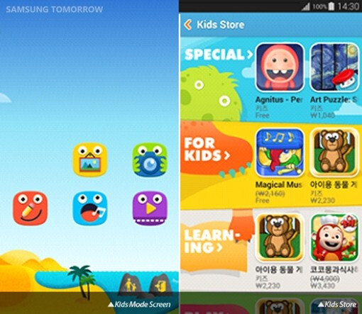 Samsung updates Kids Store on the Galaxy S5 and Galaxy Tab S, now offers 900 apps for children