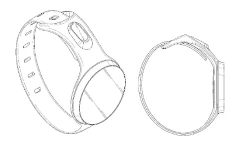 Samsung has just received three design patents for smartwatches with rounded faces