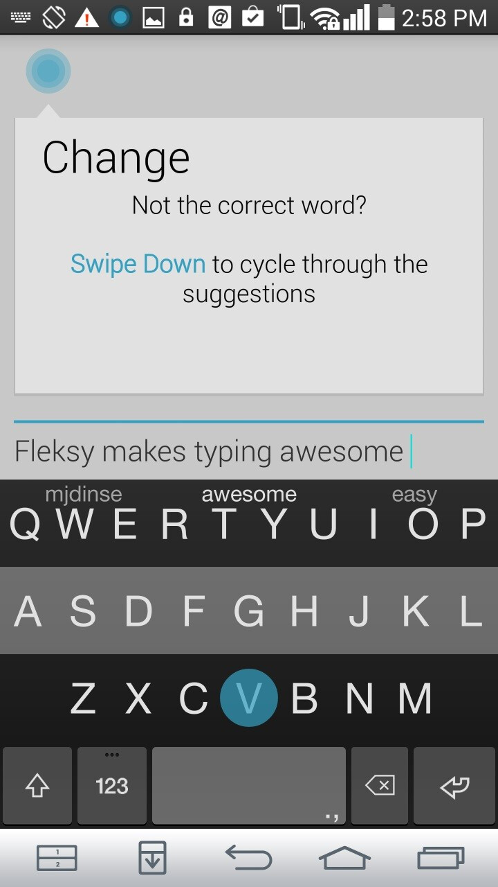 For android review how to become a type fu master fleksy for android review how to become a type fu master buycottarizona Gallery