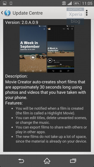 Movie Creator screenshots