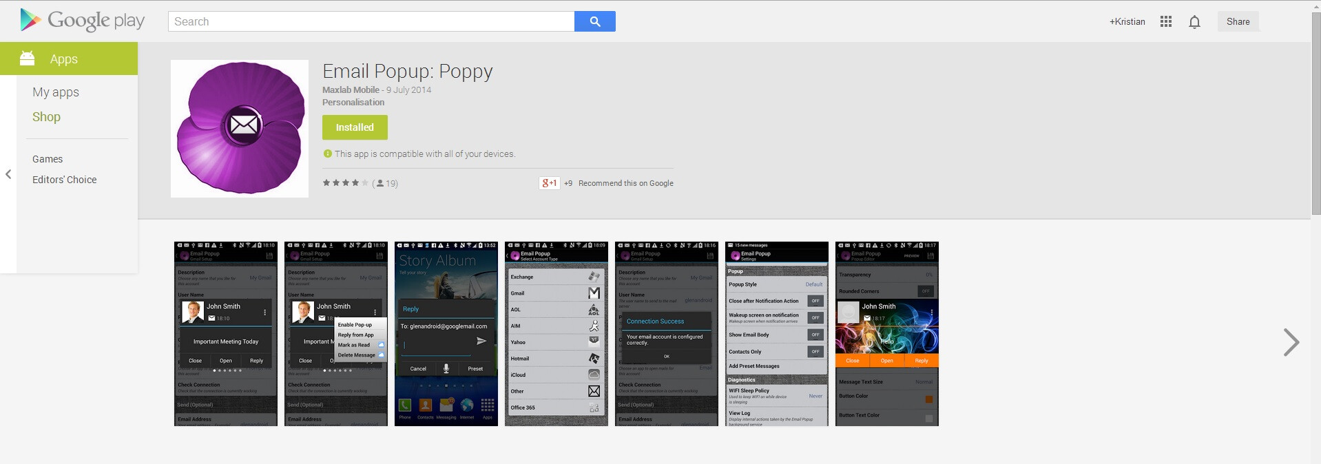 how to stop pop up apps on android