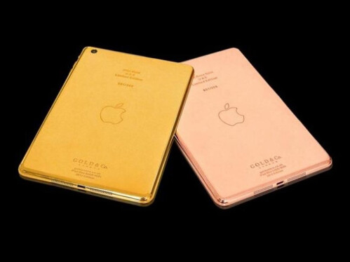 Gold & Co.'s Solid Gold iPad Mini