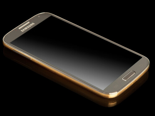 Samsung Galaxy S4 in Gold, Platinum, or Rose Gold