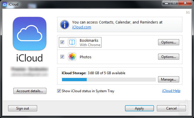 Synchronizing bookmarks with iCloud