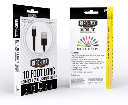 iCordination Reacharge 10-feet Lightning cable