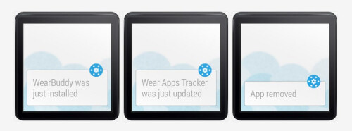 Wear Apps Tracker