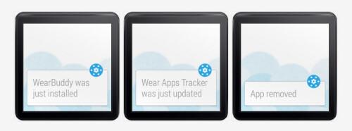 Wear Apps Tracker