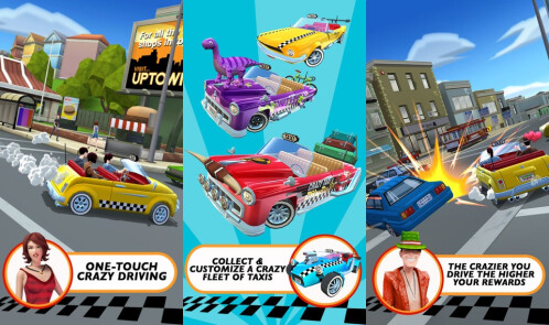 Crazy Taxy: City Rush