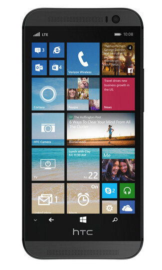 Press render of HTC One (M8) for Windows