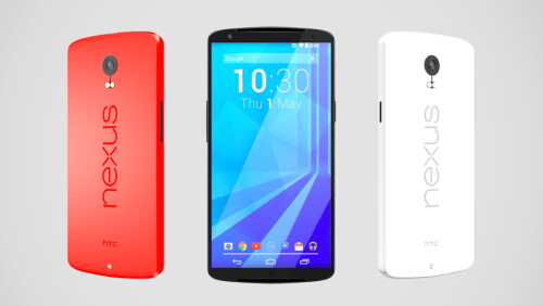 Google HTC Nexus 6 concept