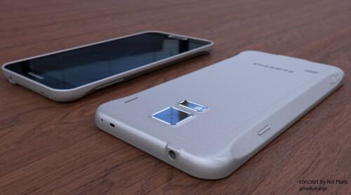 Samsung Galaxy F / S5 Premium concept