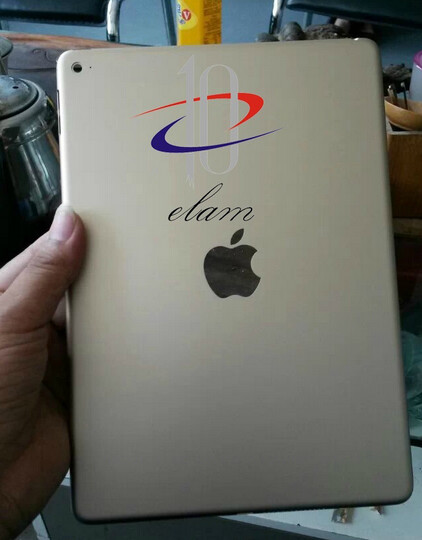 Pictures of Apple iPad Air 2 shell leak